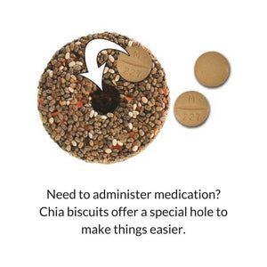 Chock Full'a Chia Biscuits - Pure Form Equine