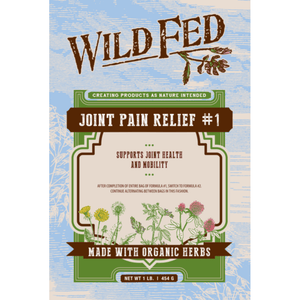Wild Fed Organic Herbal Joint Pain Relief for Horses - Formula 1