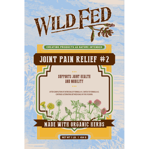 Wild Fed Organic Herbal Joint Pain Relief for Horses - Formula 2