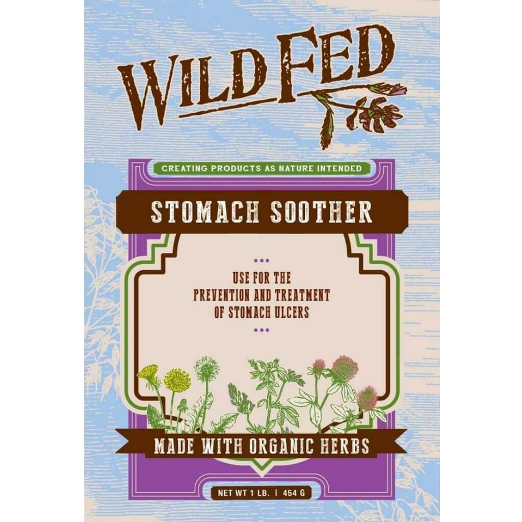 Wild Fed Stomach Soother for Horses - Ulcer Support