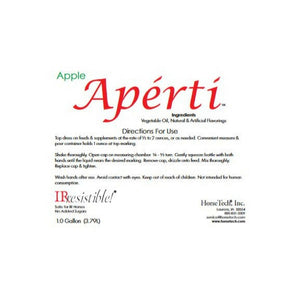 Aperti Apple Flavor Label