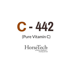 C-442 Pure Buffered Vitamin C for Horses