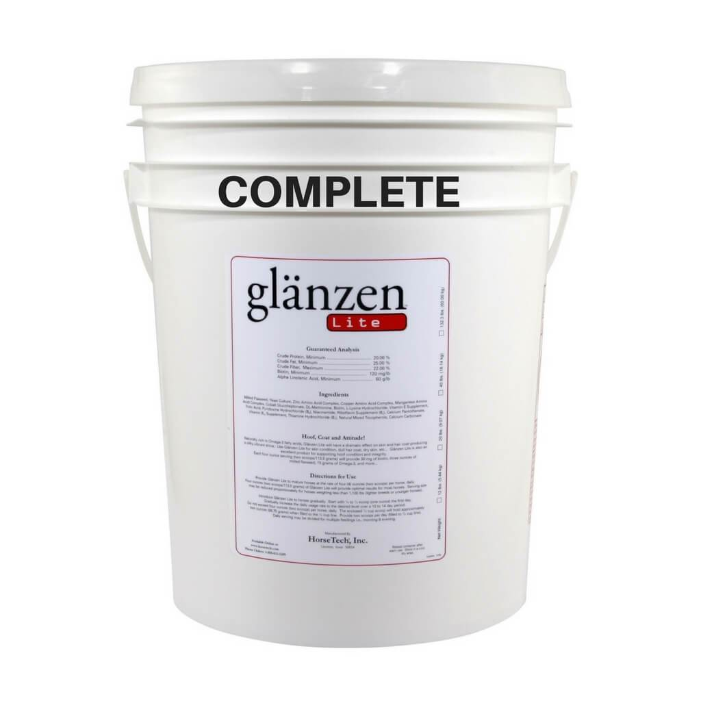 Glanzen Lite Complete for Easy Keepers