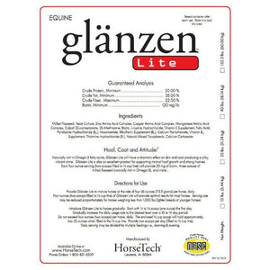 Glanzen Lite label