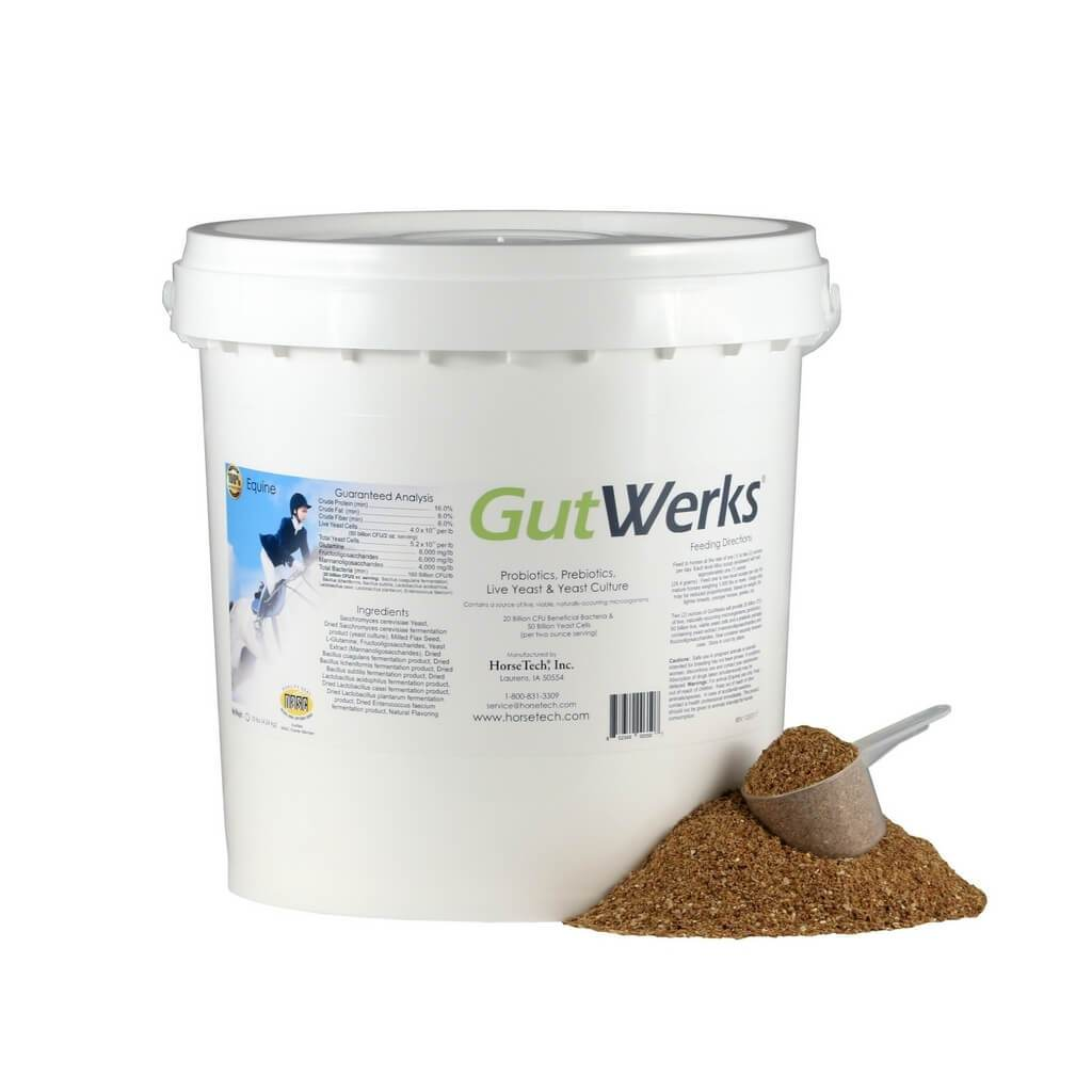 GutWerks - Pre/Probiotics, Live Yeast & Yeast Culture for Horses