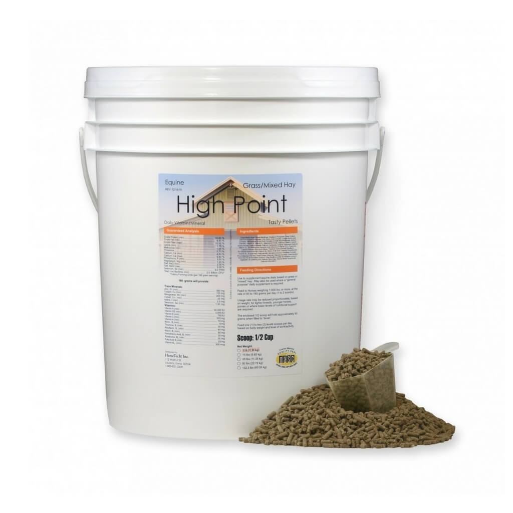 High Point Pellets for Grass Pasture Diets