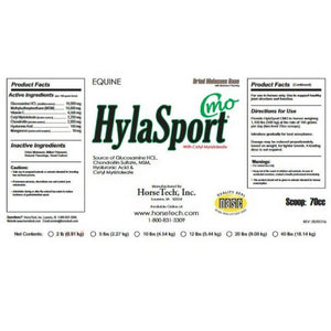 HylaSport CMO label