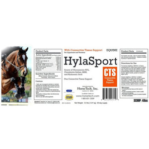 HylaSport CTS label