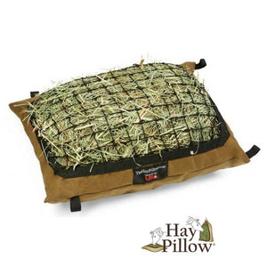 Mini Hay Pillow Slow Feeder Hay Net Bag for Miniature Horses