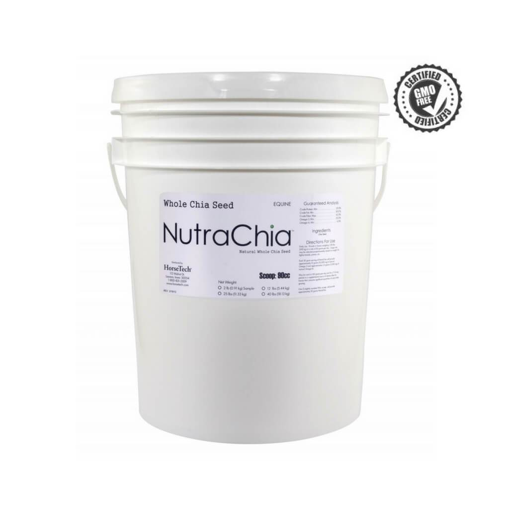 Nutra-Chia - Non GMO Whole Chia for Horses