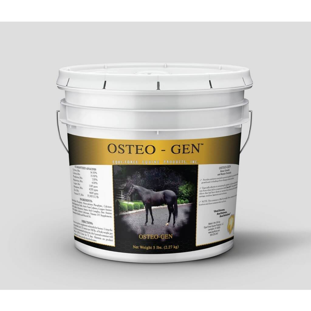 OSTEO-GEN™ - EQUINE BONE BUILDING AND REPAIR SUPPORT