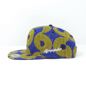 "AFP Full ""Yellow Blue"" Ankara Cap"