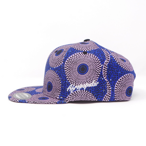 "AFP Full ""Grey Blue"" Ankara Cap"