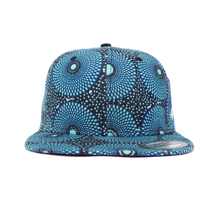 "AFP Full in ""Blue Black"" Ankara Cap"