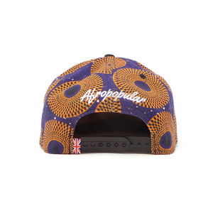 "AFP Half ""Blue Orange"" Ankara Cap"