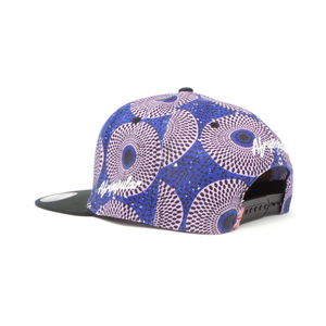 "AFP Half ""Grey Blue"" Ankara Cap"