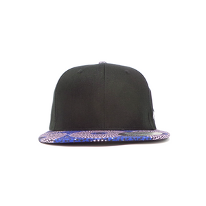 AFP Visor in Grey Blue Ankara Cap