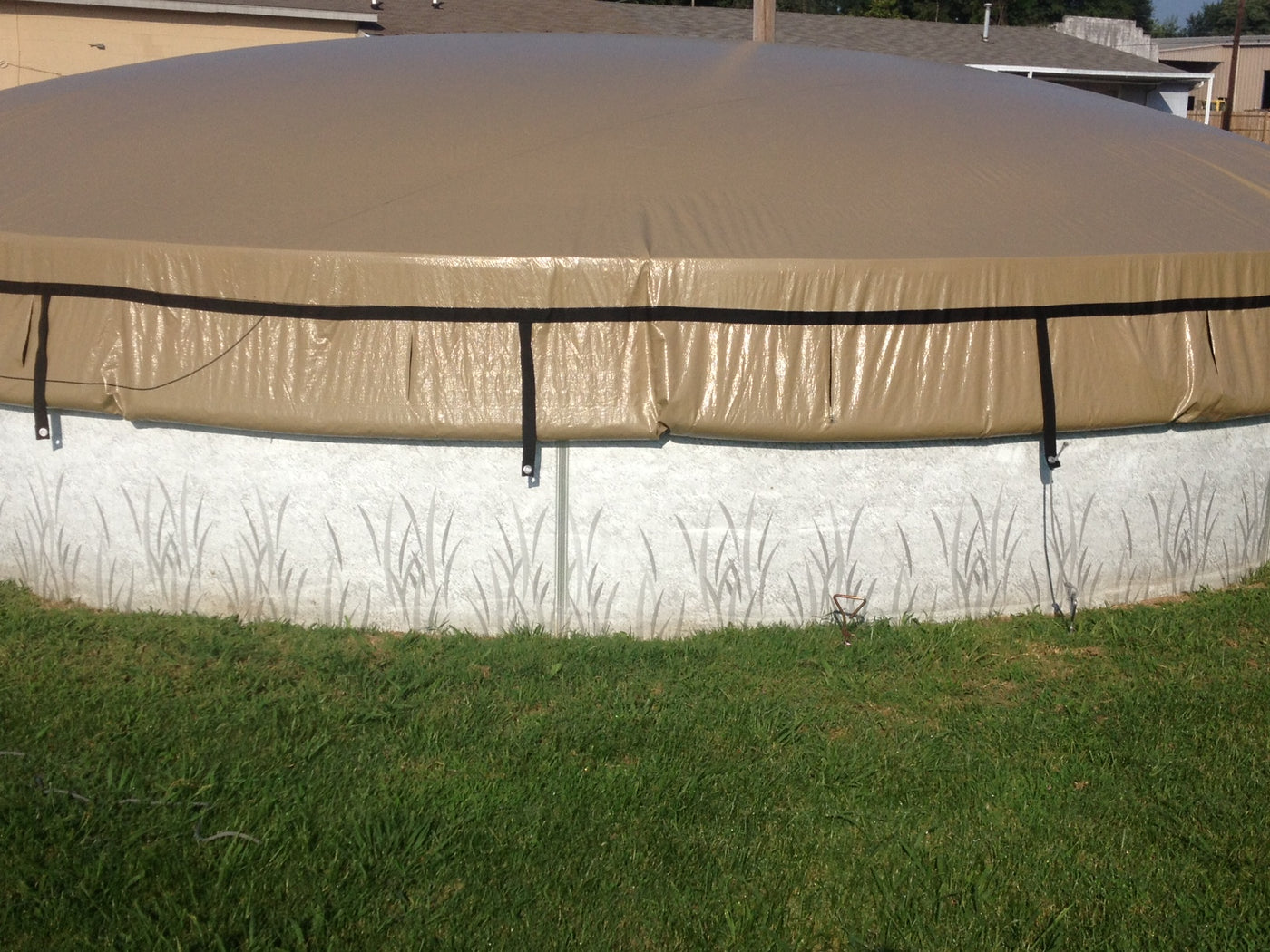 Easydome Round And Oval Above Ground Solid Winter