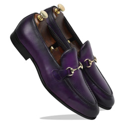 Spanish Palma Slipons - Purple