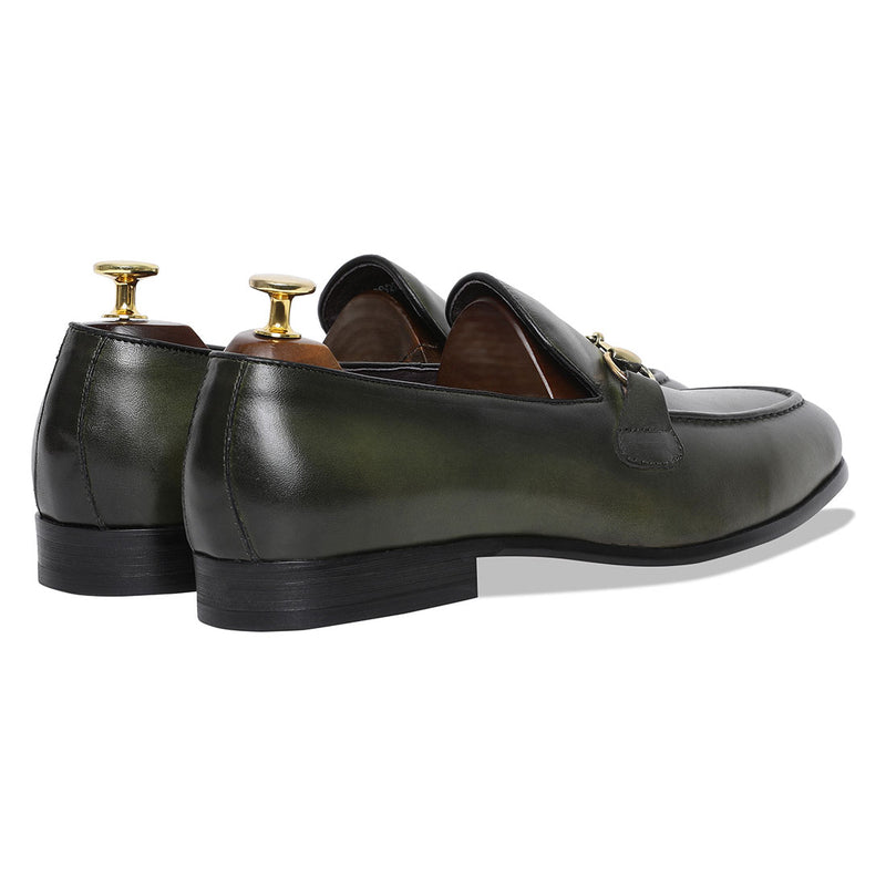 Spanish Palma Slipons - Green