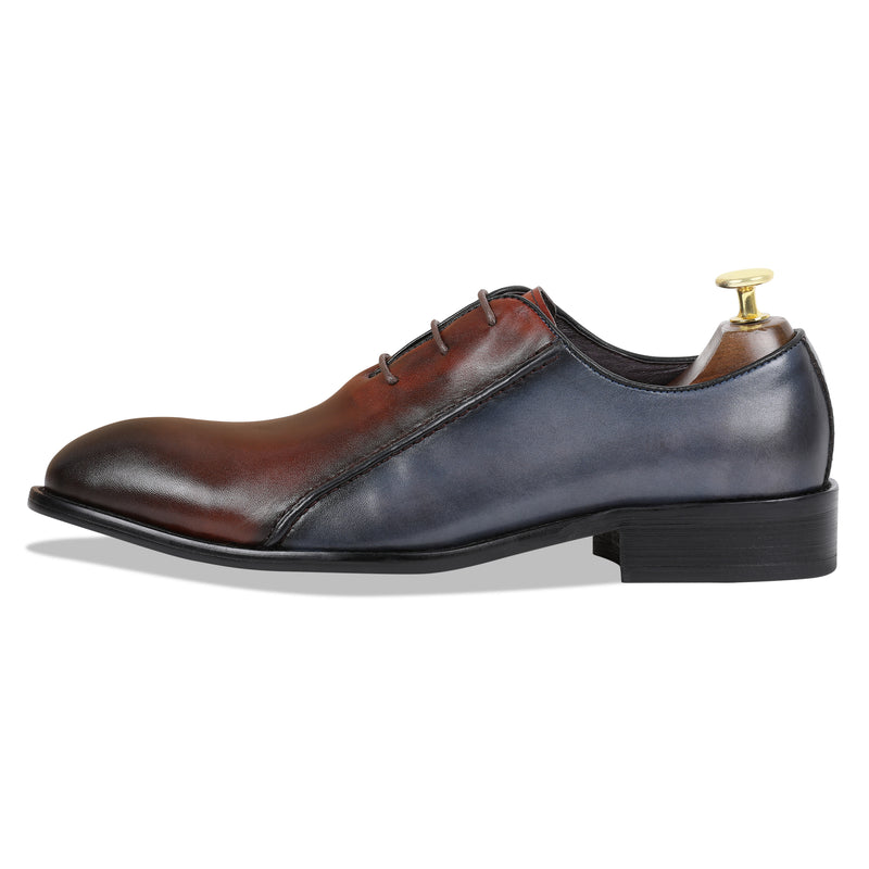 David Oxfords – Cherry & Blue