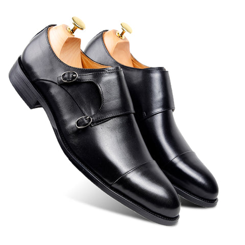 Double Monkstrap Formal - Black