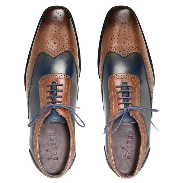 Cherokee Brogues Goodyear – Brown & Blue