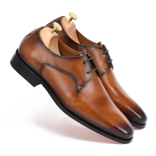 Jameson Tan Derby Shoes