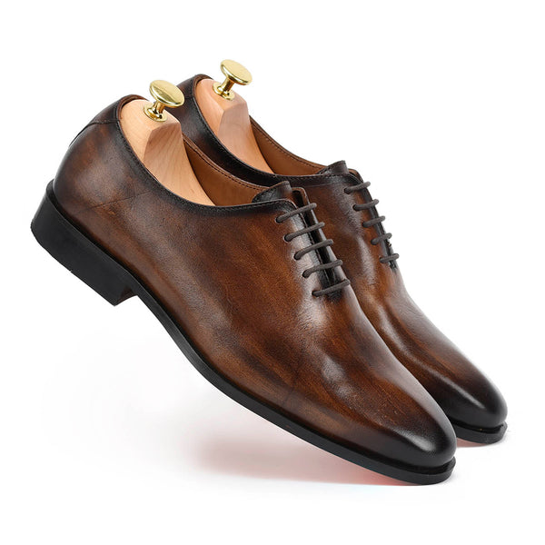 British Tobbaco Patina Oxfords