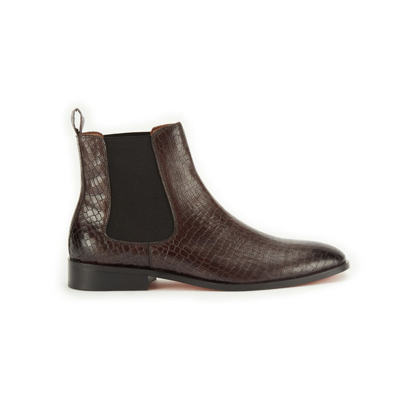 Croco Boot Gray