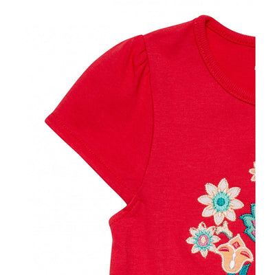 Red Short sleeve shirt Gada