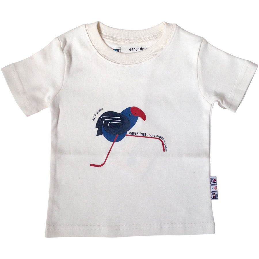 Pukeko Natural T-Shirt