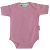 Pink Short Sleeve Bodysuit