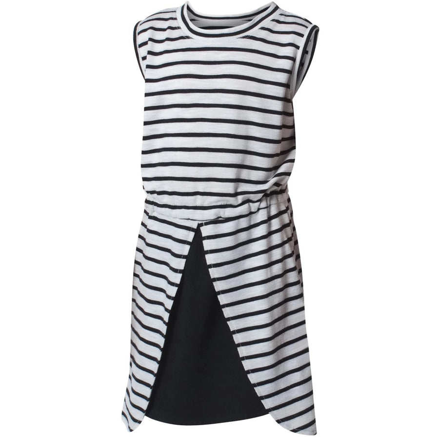 Convene Dress Stripe