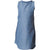 Sleeveless dress Chambray