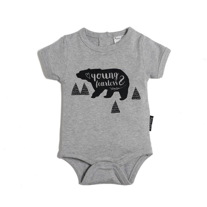 Young & Fearless Body Grey
