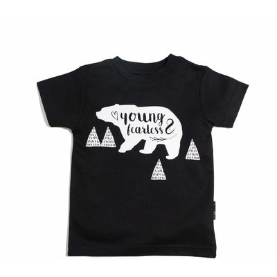 Young & Fearless Tee Black