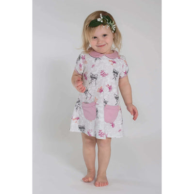 Soft Fawn Tunic Dress