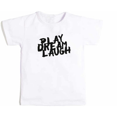 Play Dream Laugh Tee