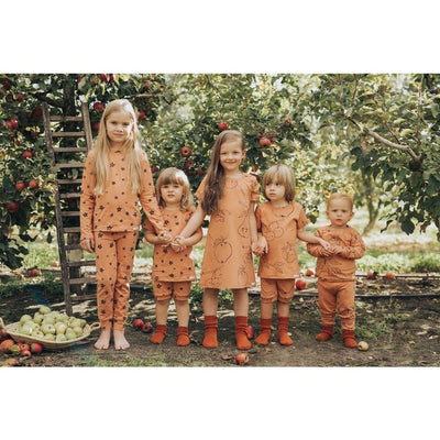 Terracotta Fruit Shortie PJ Set