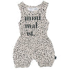 Dalmatian Playsuit
