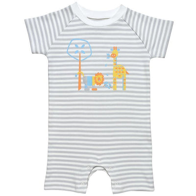 Romper colorful animal graphic
