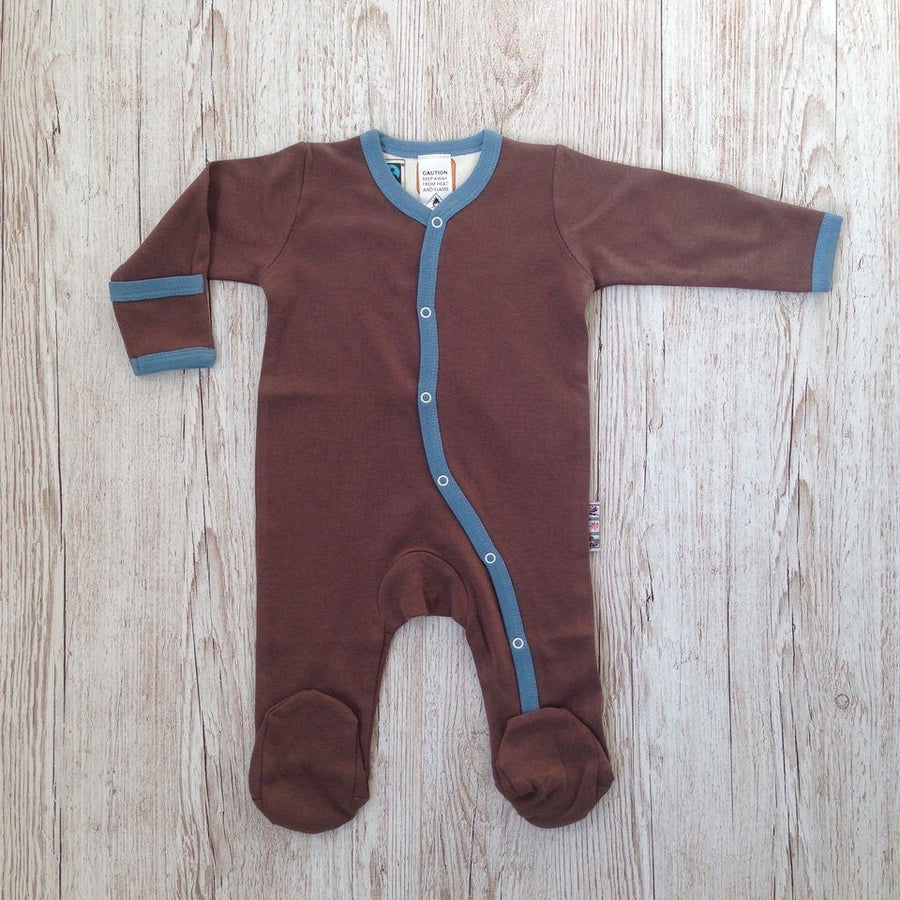 Choco Footed Playsuits