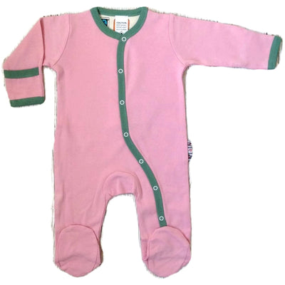 Pink Footed Playsuits