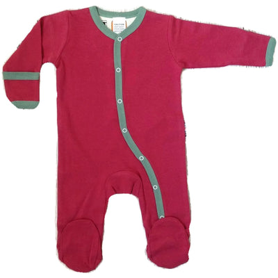 Red Footed Playsuits