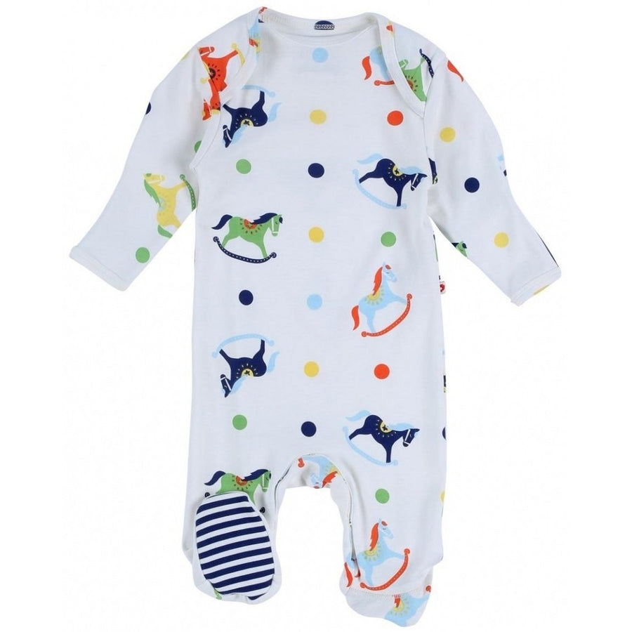 Sleepsuit Footed Rocking Horse