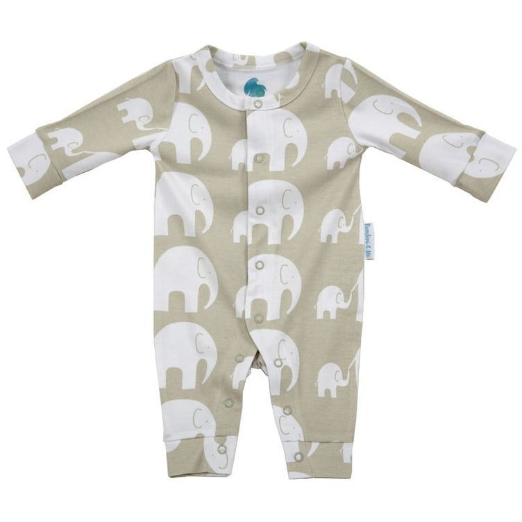 Green Elephant Romper