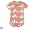Short Sleeve Bird Bodysuit
