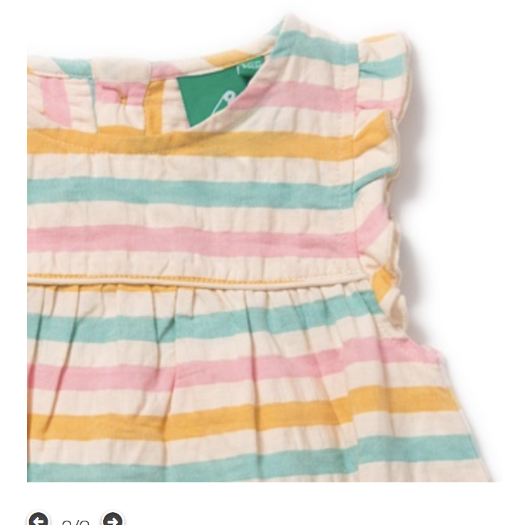 Salt Water Taffy Frill Dress