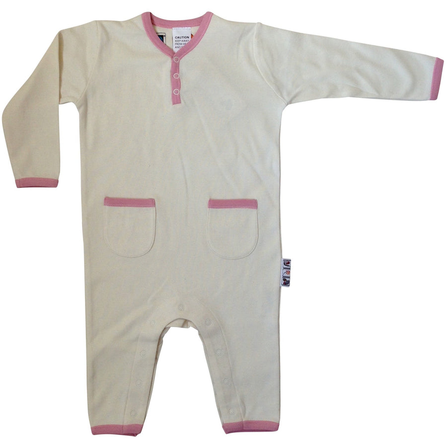 Natural Pink Playsuits
